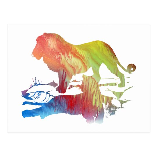 Lions Postcard