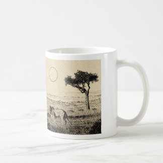 Lions resting - Hand Drawing Mug