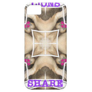 Lion's share iPhone 5 cover