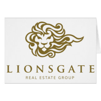 Lionsgate Real Estate Group Thank You Note Card