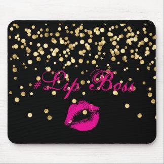 Lip Boss Mouse Pad