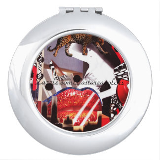 Lip City-Compact Mirror Mirror For Makeup