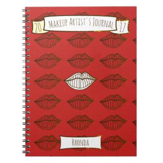 Lip Lineart Design Notebook