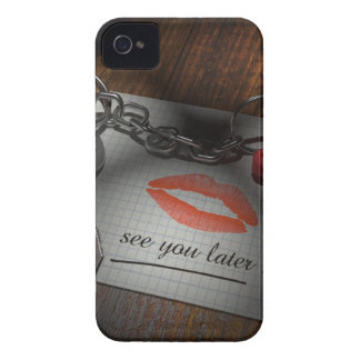 Lip lock love iPhone 4 case