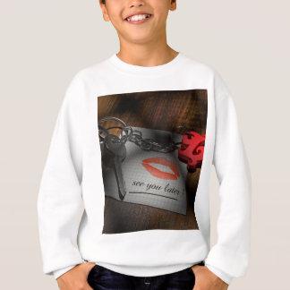 Lip lock love sweatshirt
