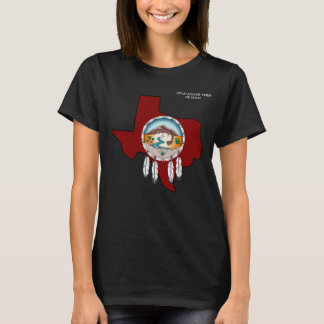 Lipan Apache Tribe TX Women's Basic Black T-Shirt