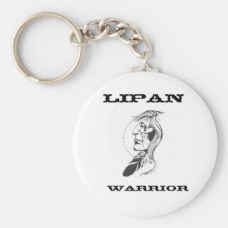 Lipan Warrior Keychain