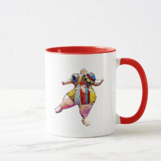 Lipedema strong Lady Dancing Coffee Mug