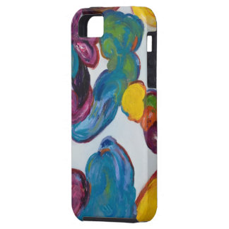 L'iphone 5 d'art abstrait de Julie Michel enfermen Coques Case-Mate iPhone 5