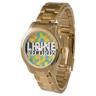 (LIPINE RECORDS) Gold Fruits Watch