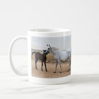 Lipizzan Mare and Foal Mug