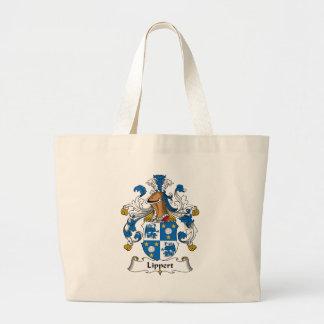 Lippert Family Crest Jumbo Tote Bag
