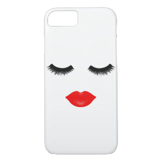 Lips and Lashes iPhone 7 Case