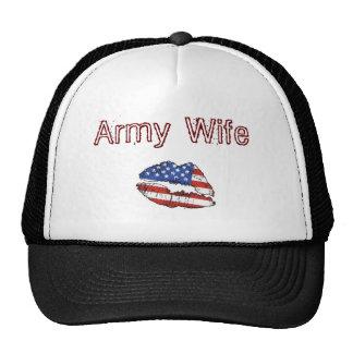 lips, Army Wife Trucker Hat