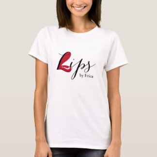 Lips Makeup Artist Elegant Beauty Salon T-Shirt