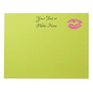 Lips Notepad