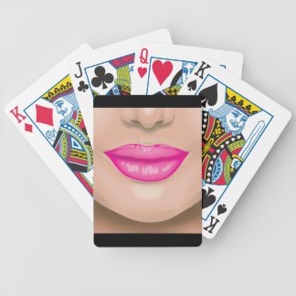Lips Poker Deck