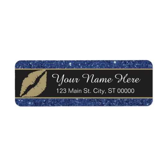 Lips - Return Address Label - Custom