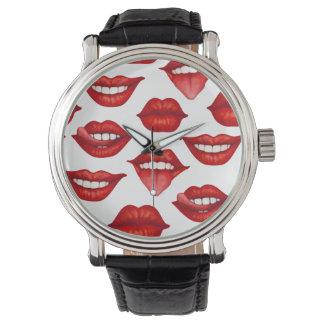 Lips Watch