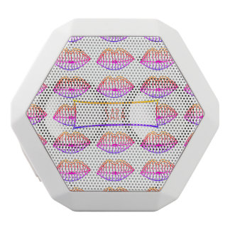Lips White Bluetooth Speaker
