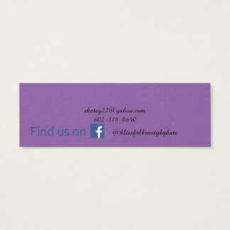 Lipsense Mini Business Card
