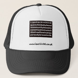 Lipsmackin....breastmilk Trucker Hat