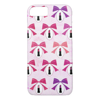 Lipstick and Bows Phone Case