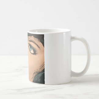 Lipstick Classic White Coffee Mug