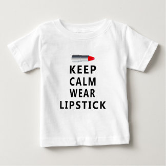lipstick design cute baby T-Shirt