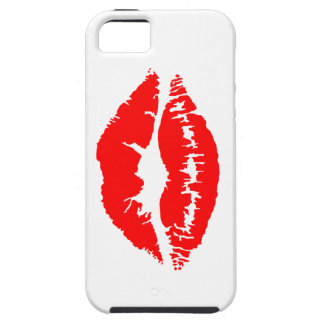 Lipstick Kiss iPhone 5 Cover