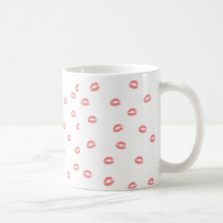 Lipstick Kiss: Coffee Mug