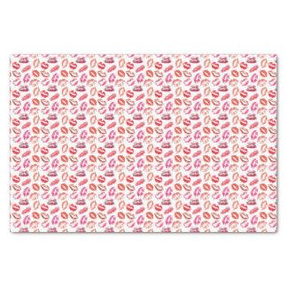 Lipstick Kiss Print Tissue Paper