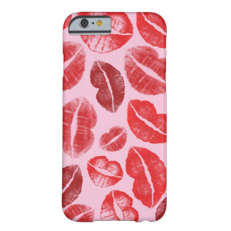 Lipstick Kisses Barely There iPhone 6 Case