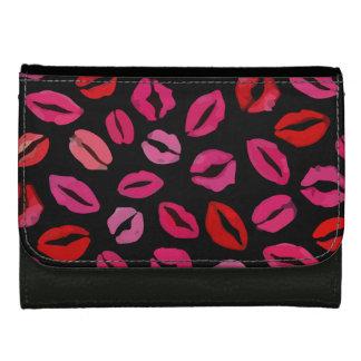 Lipstick Kisses Wallets