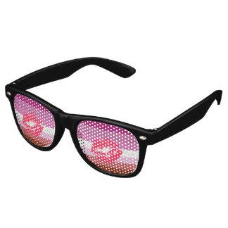 Lipstick Lesbian Flag Retro Sunglasses