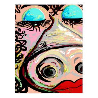 Lipstick on a Pig! Postcard