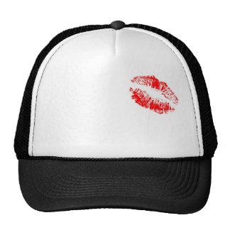lipstick trucker hat