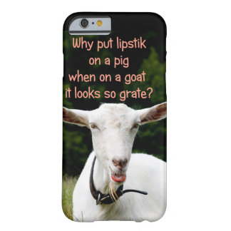 Lipstik on a goat iphone case