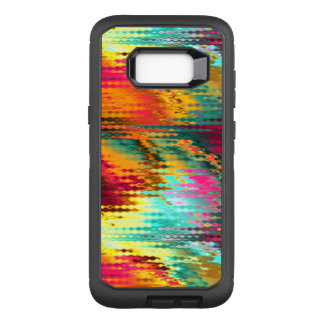 Liquid Abstract Rainbow OtterBox Defender Samsung Galaxy S8+ Case