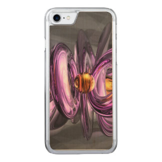 Liquid Amethyst Abstract Carved iPhone 8/7 Case