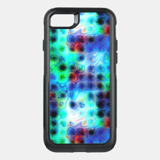 Liquid Blue Dots OtterBox Commuter iPhone 8/7 Case
