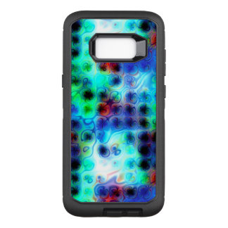 Liquid Blue Dots OtterBox Defender Samsung Galaxy S8+ Case
