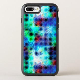 Liquid Blue Dots OtterBox Symmetry iPhone 8 Plus/7 Plus Case