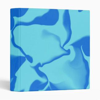 Liquid Blue Waves #1 Binder