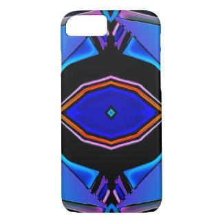 Liquid Blues Geometrical Design iPhone 8/7 Case