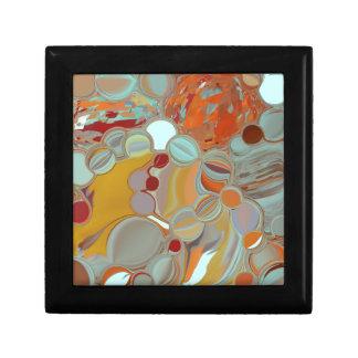 Liquid Bubbles Abstract Design Gift Box