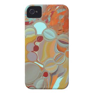 Liquid Bubbles Abstract Design iPhone 4 Case-Mate Case