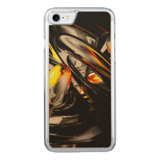 Liquid Chaos Abstract Carved iPhone 8/7 Case