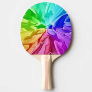Liquid Colour Ping Pong Paddle