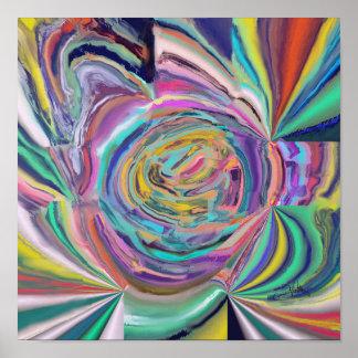 Liquid Colours Poster